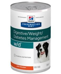 Hill's Prescription Diet w/d Cane umido da 370 gr
