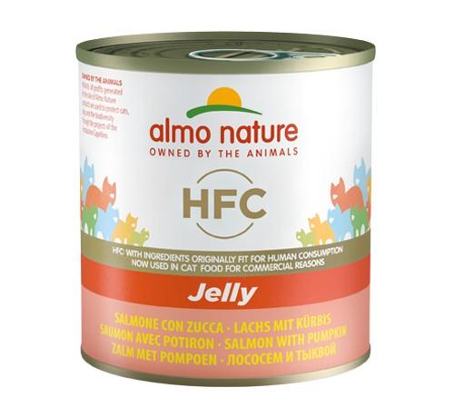 Almo Nature Jelly al Salmone con Zucca per Gatto da 280 gr