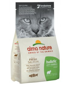Almo Nature Gatto Secco Adult Anti-Hairball con Pesce e Patate
