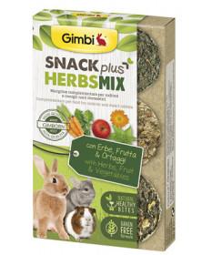 GimbiSnack Plus HerbsMixper Roditori da 50 gr