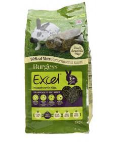 Burgess Excel per Conigli Adulti con Menta da 2 Kg