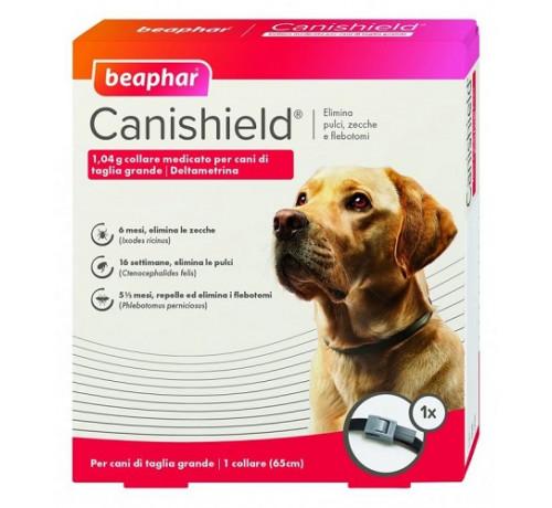 Beaphar Canishield L Collare medicato per Cani da 65 cm