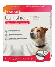 Beaphar Canishield Collare medicato per Cani di taglia piccola e media da 48 cm (1 pz)
