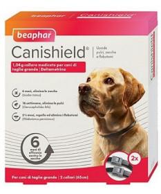 Beaphar Canishield Collare medicato per Cani di tagliagrande da 65 cm (2 pz)
