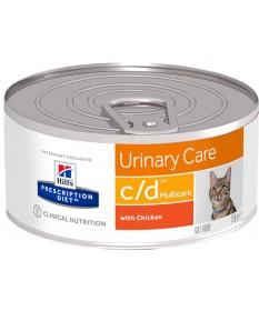 Hill's Prescription Diet c/d Multicare Gatto umido da 156g