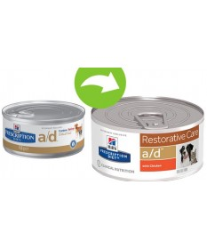 Hill's Prescription Diet a/d Restorative Care per Cane e Gatto da 156 gr