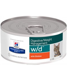 Hill's Prescription Diet w/d Gatto umido da 156 gr