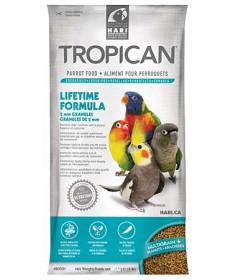 Hagen Tropican Lifetime Formula granuli da 2 mm per Pappagalli da 820 gr
