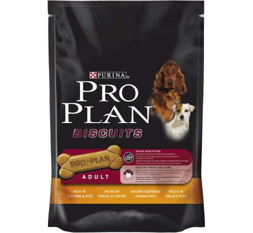 Purina Proplan Biscuits Pollo e Riso 400 gr