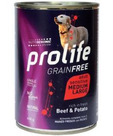 Prolife Sensitive Grain Free per Cani Adult M/L da 400 gr
