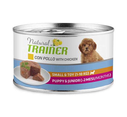 Trainer Natural per Cane Puppy & Junior Mini con Pollo da 150 gr