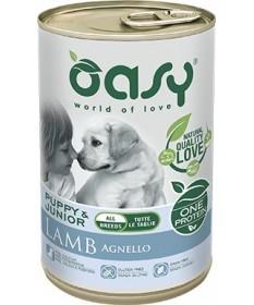 Oasy Cane Umido Monoproteico Agnello 400 gr