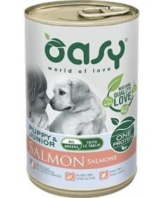 Oasy Cane Umido Monoproteico Salmone 400 gr