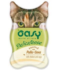 Oasy Delicatesse Soufflè per Gatto da 85 gr