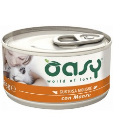Oasy Natural Mousse per Gatto da 85 gr