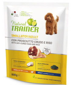 Trainer Natural Cane Secco Small & Toy 800 gr
