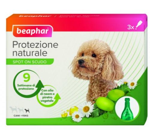 Beaphar protezione naturale spot on cane piccolo inferiore 15 kg