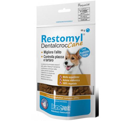Innovet Restomyl Dentalcroc Cane per Cani di piccola taglia da 60 gr