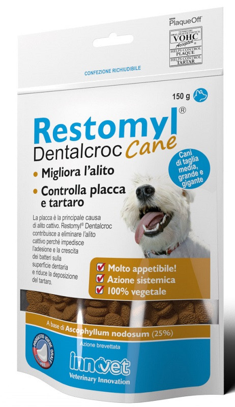 Innovet Restomyl Dentalcroc per Cani Medium/Large da 150 gr