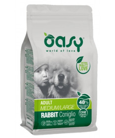 Oasy Cane Secco Monoproteico Adult Coniglio