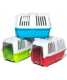 Pratiko 1 Plast Trasportino colorato per Cane e Gatto