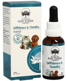 Bush Flower EssenzaDiffidence & Timidity per Cani e Gatti 30 ml