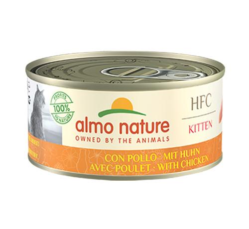 Almo Nature HFC per Gatto Kitten con Pollo da 140gr