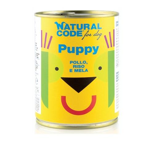 NaturalCode per Cane Puppy da 400 g