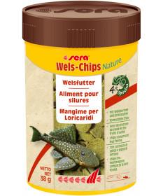 Sera Wels Chips per Pesci Tropicali a ventosa da 100 ml/38 gr