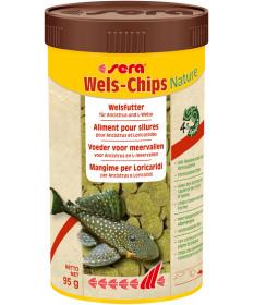 Sera Wels Chips per Loricaridi e Ancistrus da 250 ml/95 gr