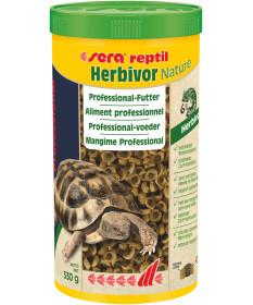 Sera Reptil Professional Herbivor per Tartarughe Terrestri e Rettili Erbivori da 1 lt/330 gr