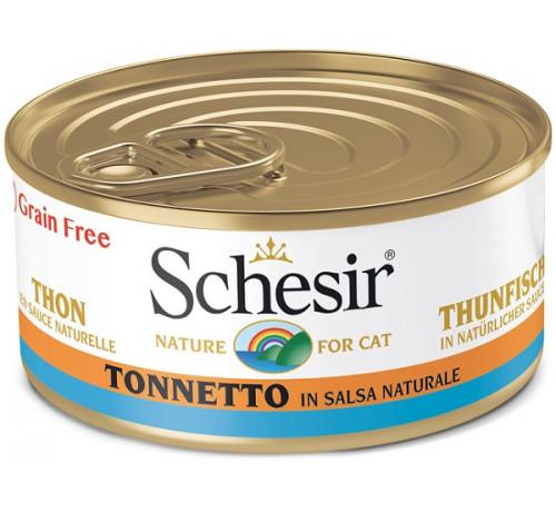 Schesir Gatto in Salsa Naturale da 70g
