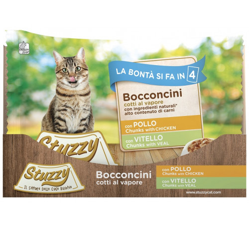 Stuzzy Gatto Multipack 4x100g