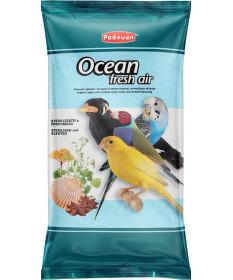 Padovan Ocean Fresh Air Sterilizzato e Profumato per Uccelli da 5 kg