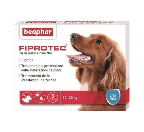 Beaphar Fiprotec Spot On Cane Medio 10-20 kg