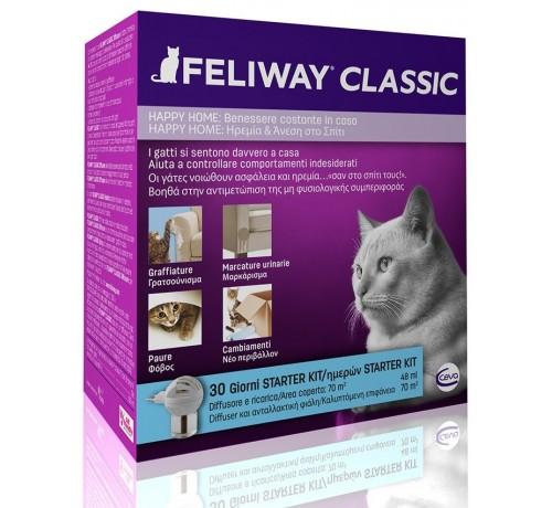 Feliway Classic KIT diffusore + ricarica 48 ml