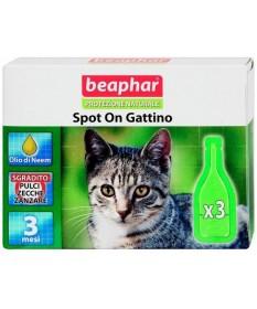 Beaphar protezione naturale spot on gattino 3 pipette