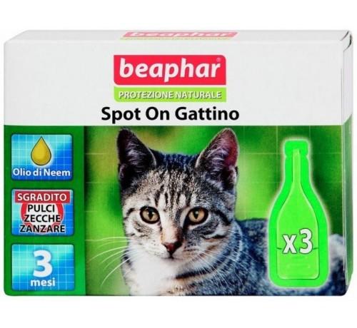 Beaphar protezione naturale spot on gattino