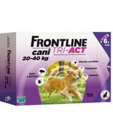 Frontline tri-act Cani 20-40 kg 6 pipette