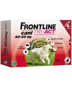 Frontline tri-act Cani 40-60 kg 6 pipette