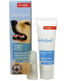Candioli Dentalpet tubo 50 gr per cane e gatto