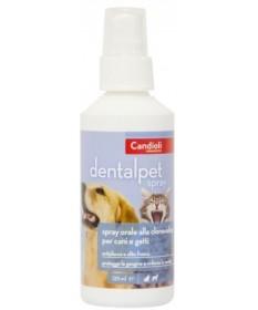 Candioli Dentalpet Spray orale da 125 ml per cane e gatto
