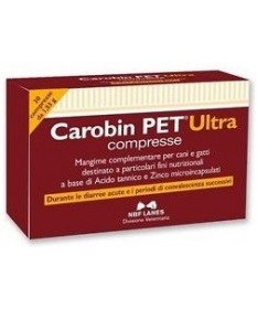 Nbf Lanes Carobin Pet Ultra 30 compresse