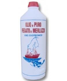 Olio di puro fegato di merluzzo da 1000ml