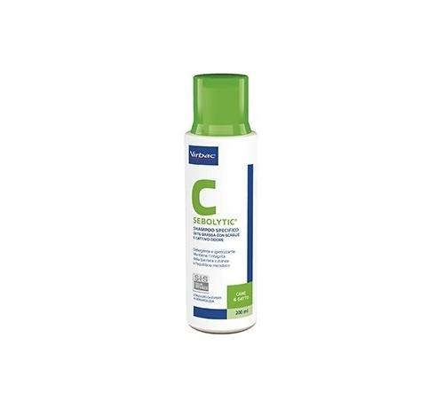 Virbac Sebolytic Shampoo 200 ml per cani e gatti