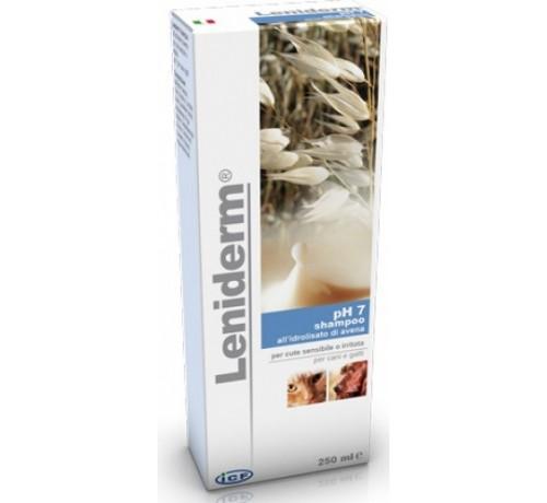 Leniderm Shampoo da 250 ml - Cute sensibile e irritata per cani e gatti