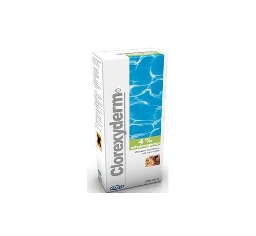 Clorexyderm Shampoo 4% Disinfettante da 250 ml per cani e gatti