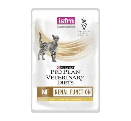 Purina Pro Plan Veterinary Diet NF Renal Function bustina 85g pollo