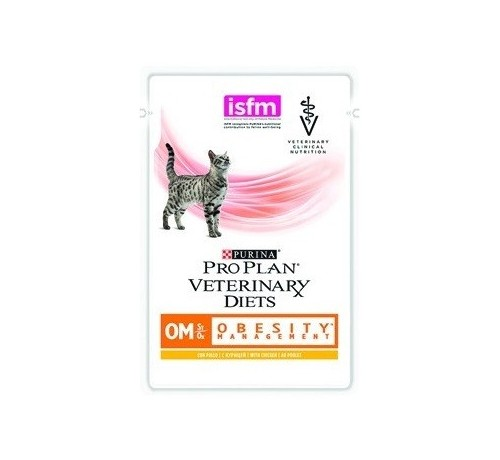 Purina Pro Plan Veterinary Diet OM Obesity Management bustina 85g