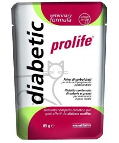 Prolife Diabetic per gatto busta da 85 gr